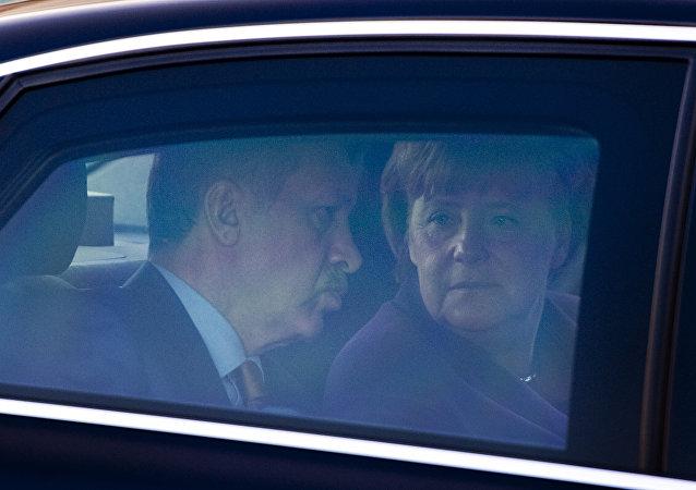Recep Tayyip Erdoğan - Angela Merkel
