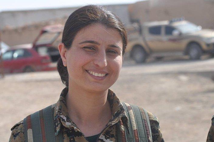 YPJ Komutanı Cihan Şeyh Ehmed