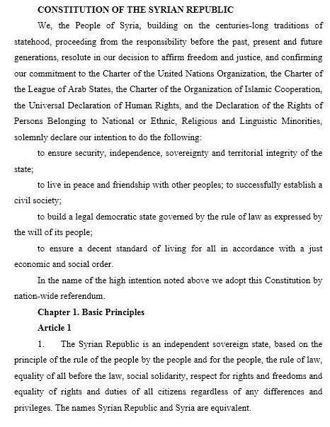 Anayasa taslağı