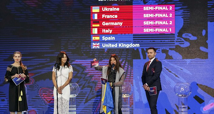 Eurovision şarkı yarışması- Ukrayna
