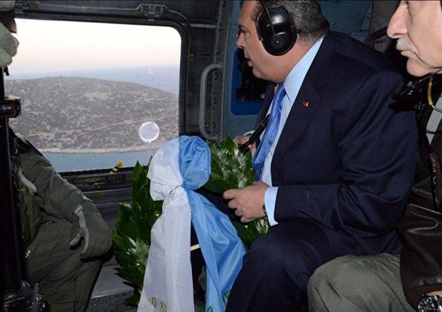 Kammenos, Kardak'a çiçek bıraktı