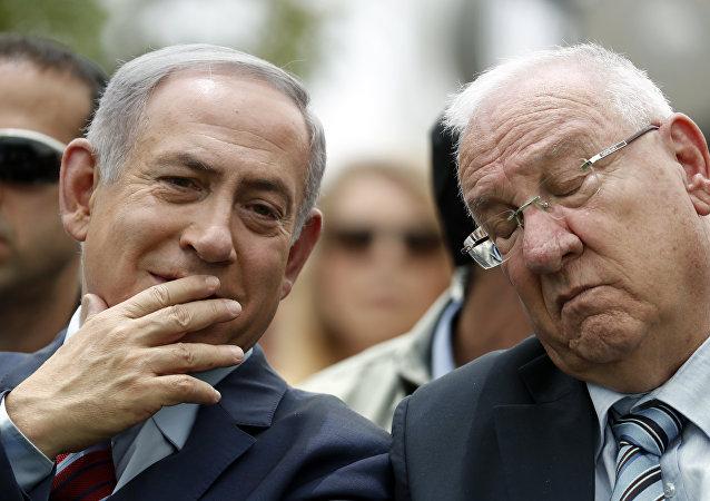 Benyamin Netanyahu - Reuven Rivlin