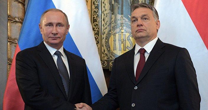 Viktor Orban - Vladimir Putin