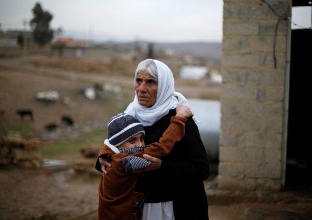 IŞİD'den geri alınan Ezidi çocuk ailesine kavuştu