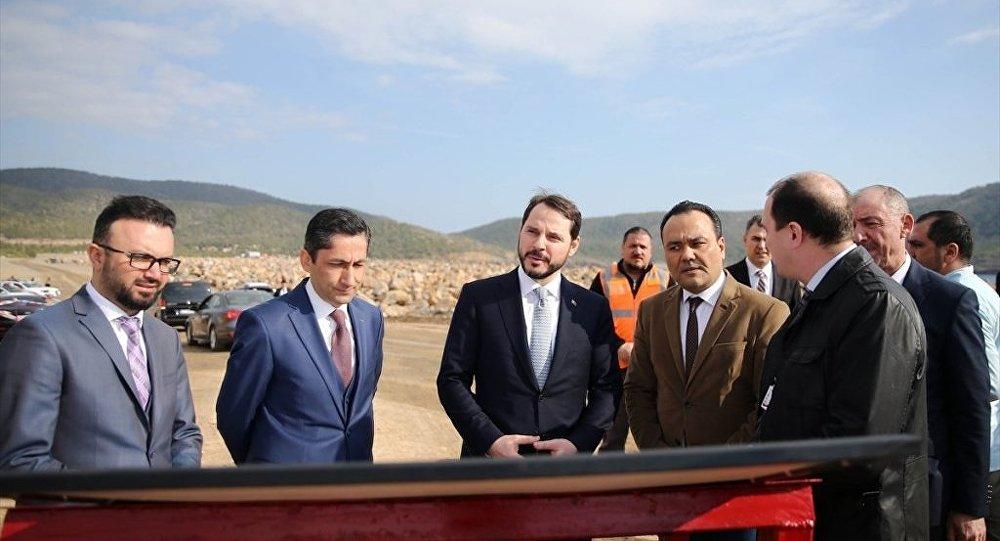 Enerji ve Tabii Kaynaklar Bakanı Berat Albayrak Akkuyu'da