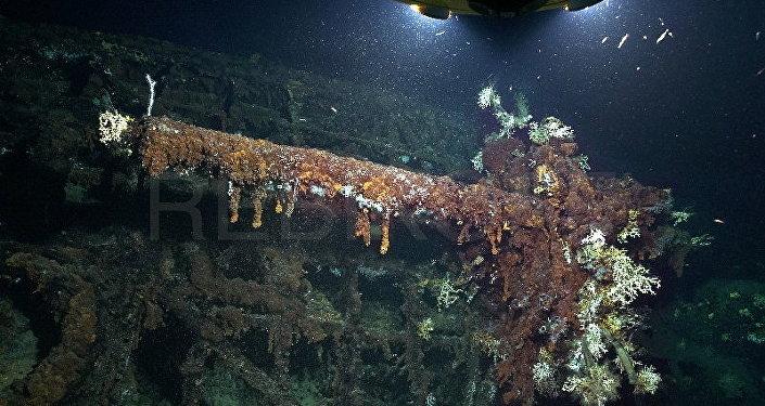Azorlar'da bulunan Alman denizaltısı