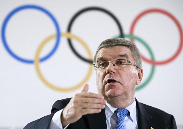 Uluslararası Olimpiyat Komitesi Başkanı Thomas Bach
