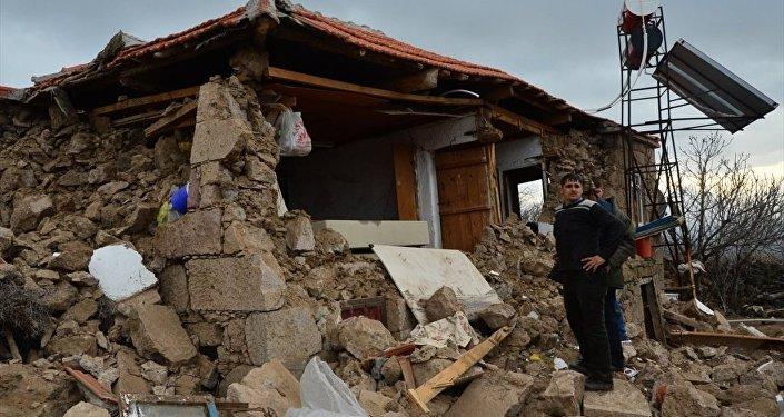 Çanakkale'deki deprem