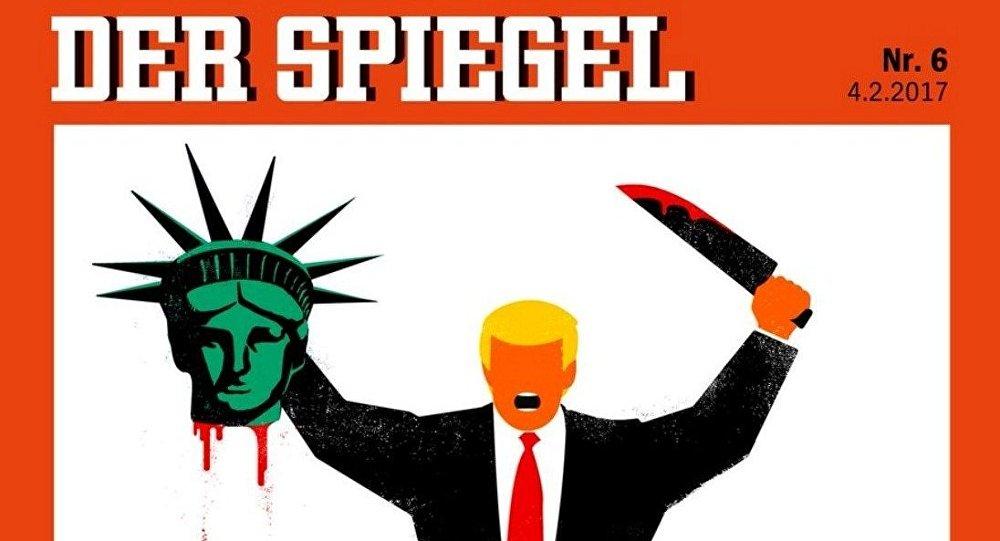 Tartışılan Der Spiegel kapağı