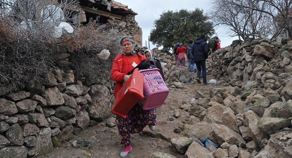 Çanakkale'deki depremler