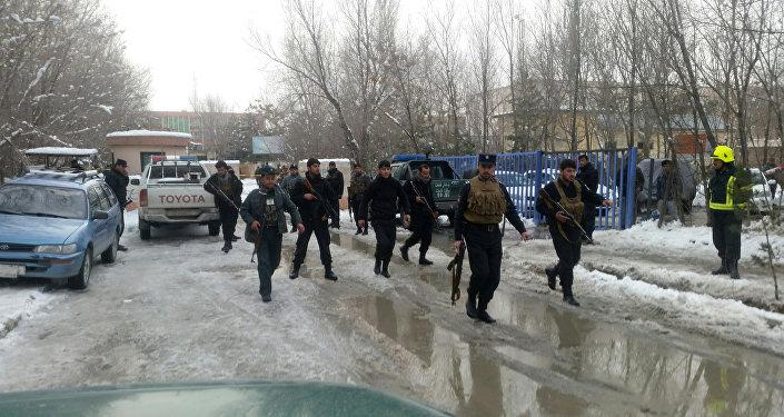 Kabil'de Anayasa Mahkemesi yakınında intihar saldırısı