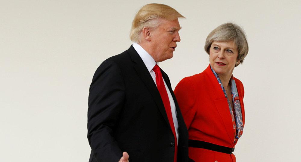 May, Trump ile istihbarat krizini görüşecek