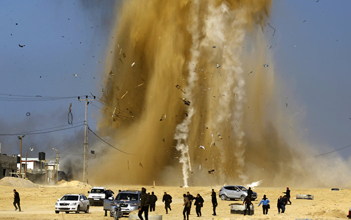 İsrail'den Gazze'deki Hamas hedeflerine hava saldırısı