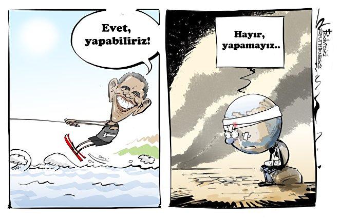 ABD eski başkanı Barack Obama tatilde