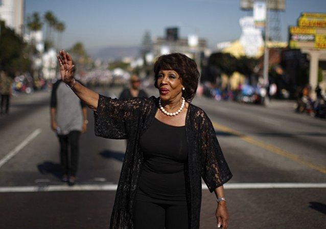 ABD Temsilciler Meclisi'nin Kaliforniyalı üyesi Maxine Waters