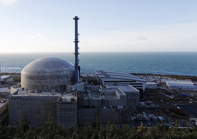 Fransa'daki Flamanville nükleer santrali