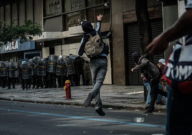 Brezilya'da çatışmalar