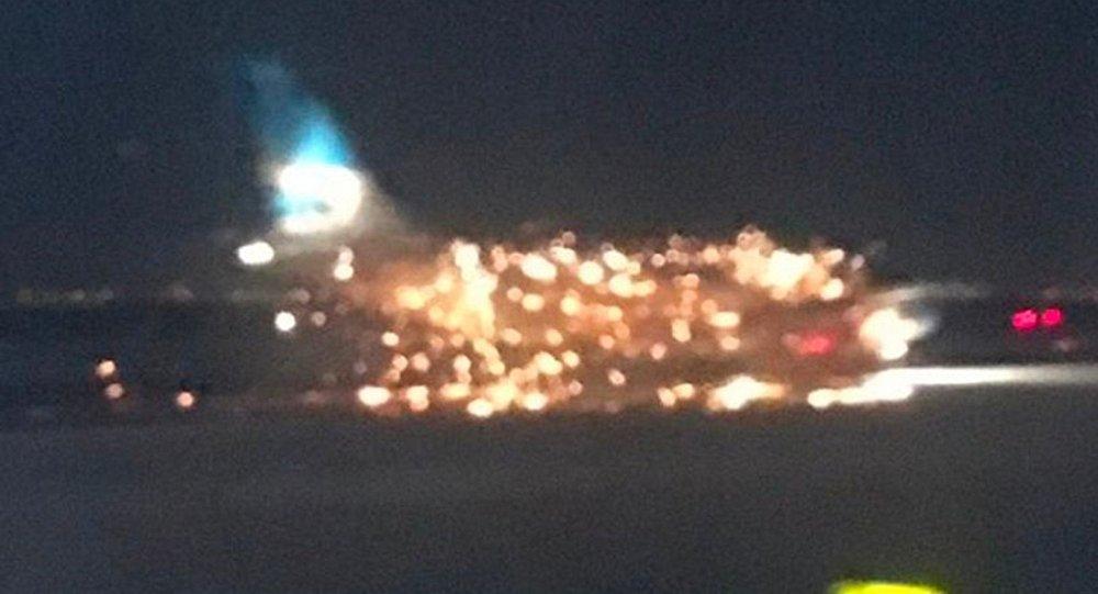 JFK Havalimanı'nda yangın