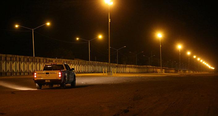 ABD'nin Kaliforniya bölgesindeki Meksika sınırında bulunan duvar