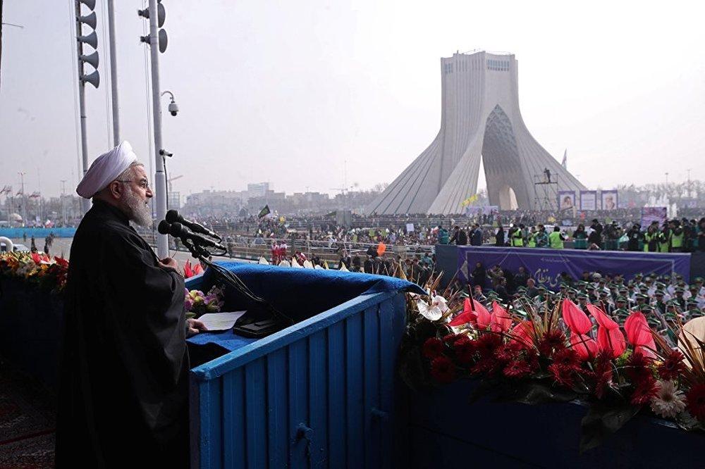 İran İslam Devrimi'nin 38. yıldönümü