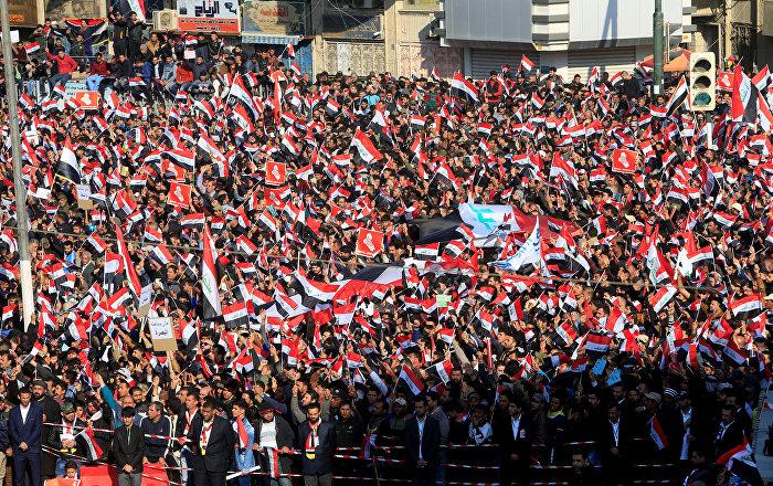 Sadr destekçilerinden Irak'ın 'ABD-İran çekişmesinden uzak tutulması' çağrısı
