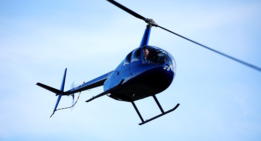 Robinson R44 helikopter