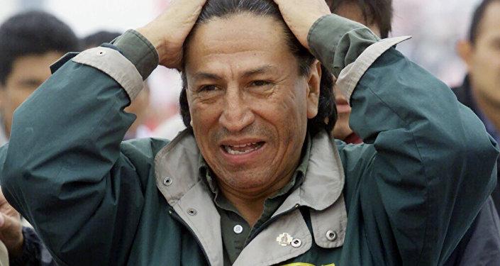 Eski Peru Devlet Başkanı Alejandro Toledo