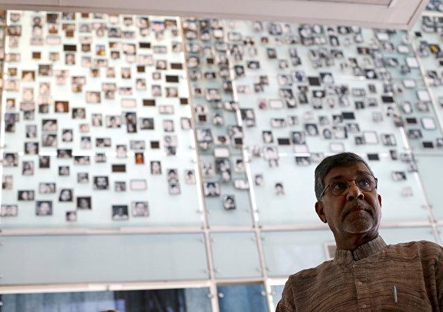 Hindistanlı çocuk hakları savunucusu Kailaş Satyarthi