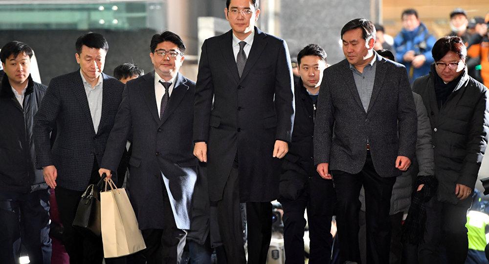 Samsung Başkan Yardımcısı Lee Jae-yong