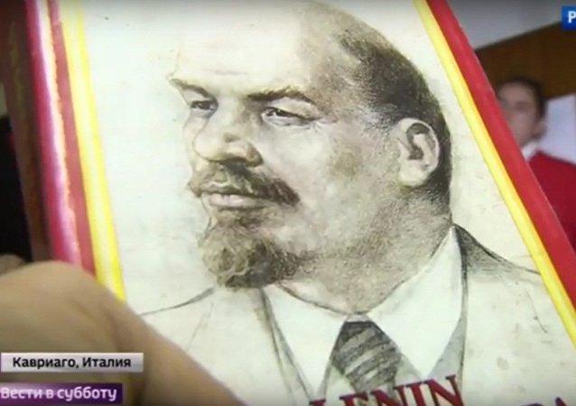 İtalya'da Lenin sevgisi
