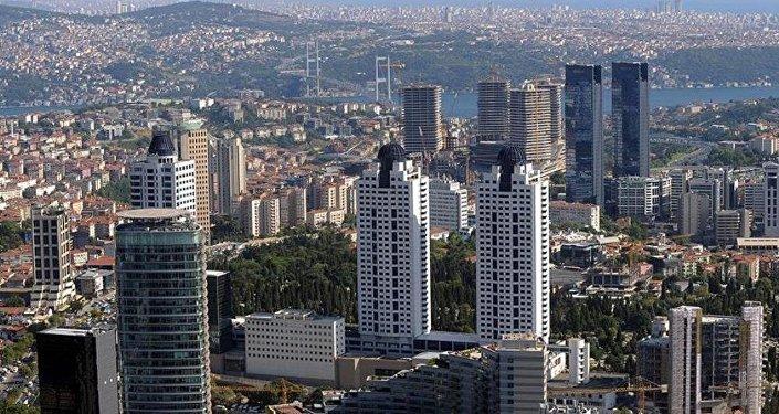 İstanbul-Yüksek Yapılaşma-Gökdelen