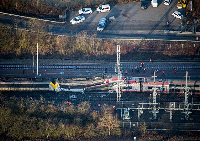 Luksemburg'da tren kazası