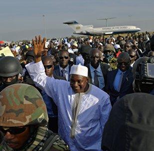 Gambiya Devlet Başkanı Adama Barrow