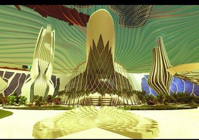 Birleşik Arap Emirlikleri'nin 'Mars 2117' projesi