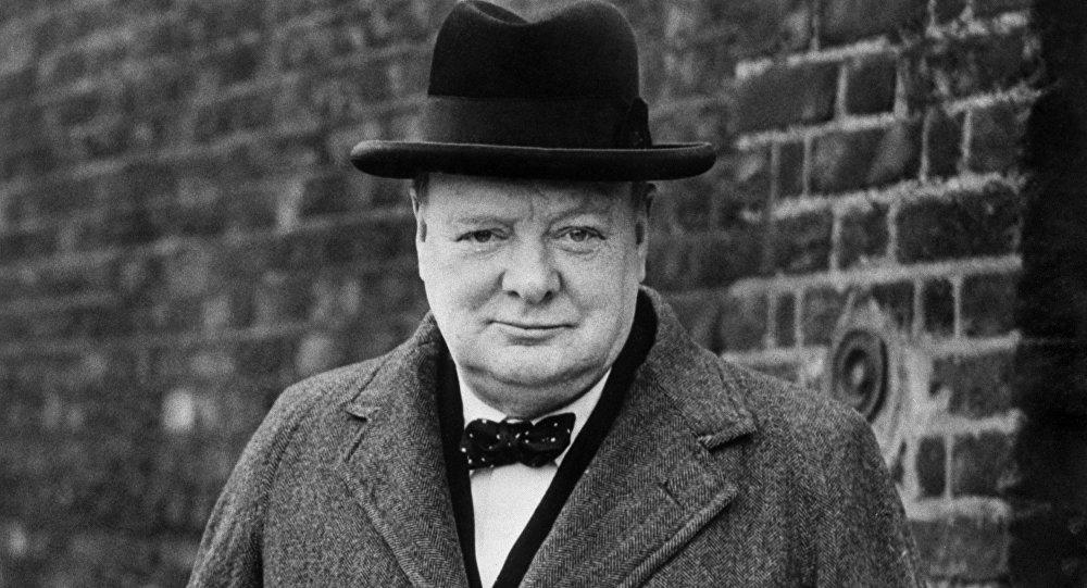 İngiltere eski Başbakanı Winston Churchill