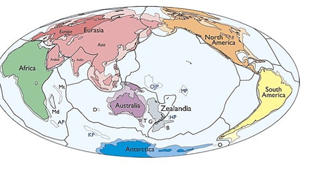 Zelandiya isimli yeni bir kıta keşfedildi