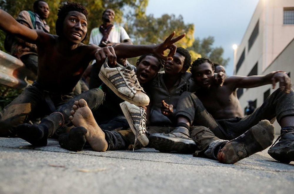 Ceuta'ya göçmen akını