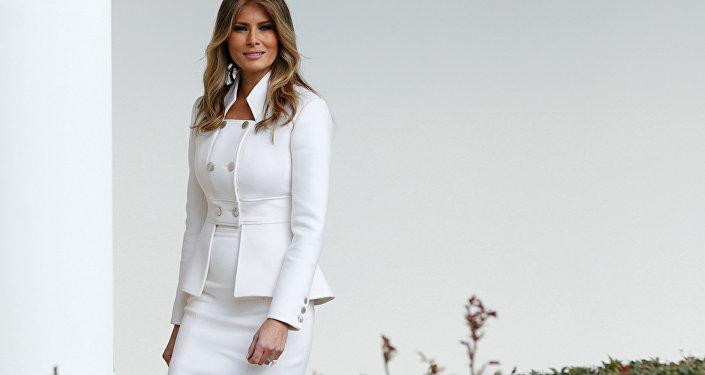 ABD First Lady'si Melania Trump