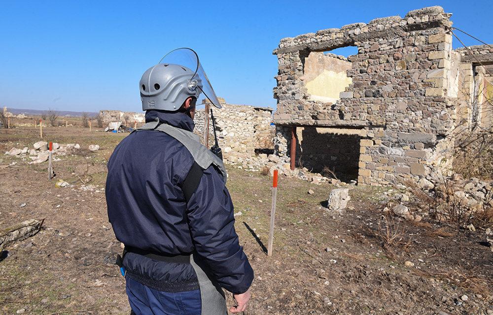 Ermeni işgalinden kurtulan Azeri köyü yeniden inşa ediliyor