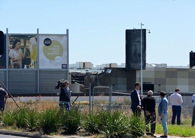Avustralya'da uçak düştü