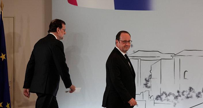 François Hollande - Mariano Rajoy