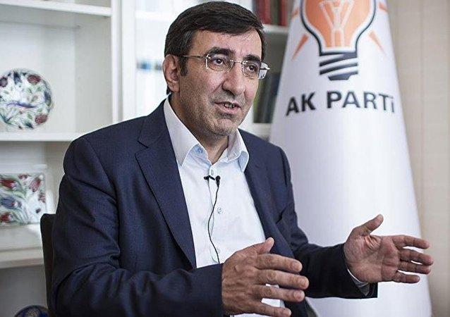 AK Parti Tanıtım ve Medyadan Sorumlu Genel Başkan Yardımcısı Cevdet Yılmaz