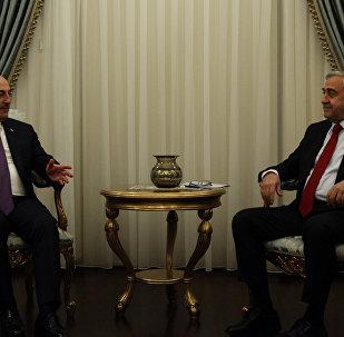 Kuzey Kıbrıs lideri Mustafa Akıncı ve Dışişleri Bakanı Mevlüt Çavuşoğlu