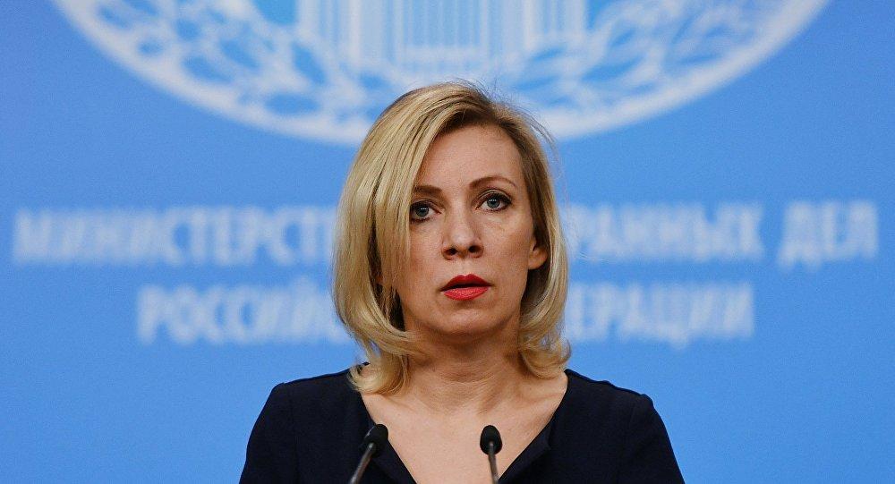 Zaharova: ABD, Rusya'daki diplomat sayısını azaltmaya kendi karar verdi