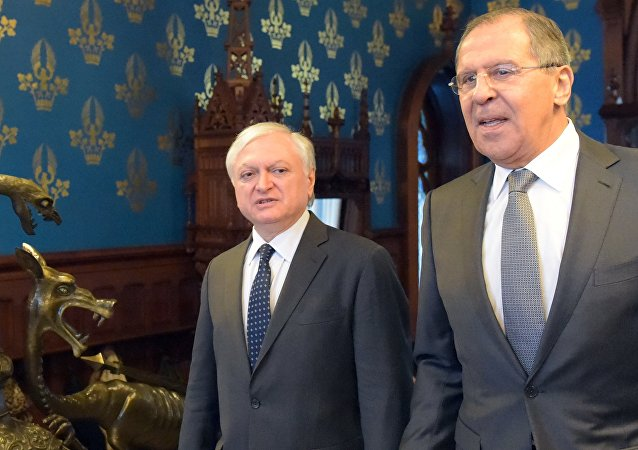 Rusya Dışişleri Bakanı Sergey Lavrov- Ermenistan Dışişleri Bakanı Eduard Nalbandyan