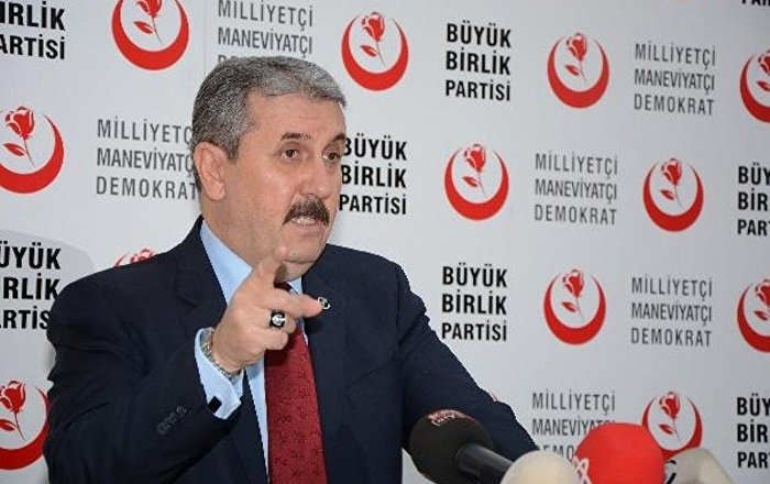 BBP, AKP ve MHP'nin birlikteliğinden memnun