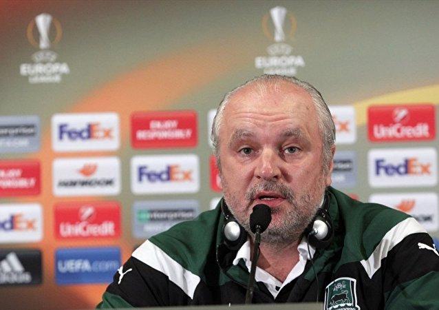 Krasnodar Teknik Direktörü Igor Shalimov