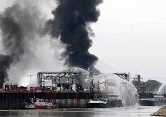 Özbekistan'da azot fabrikasında patlama