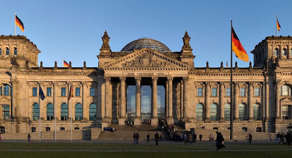 Berlin'deki Reichstag binası