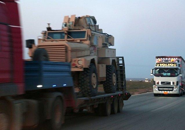 ABD'nin YPG'ye zırhlı araç sevkiyatı